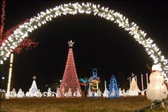 Amazing Christmas Light Show 2013