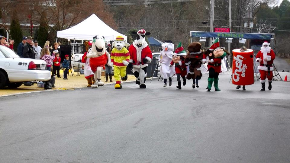 Reindeer Run 2014 @ Joe Stock Park | LaFayette | Georgia | United States