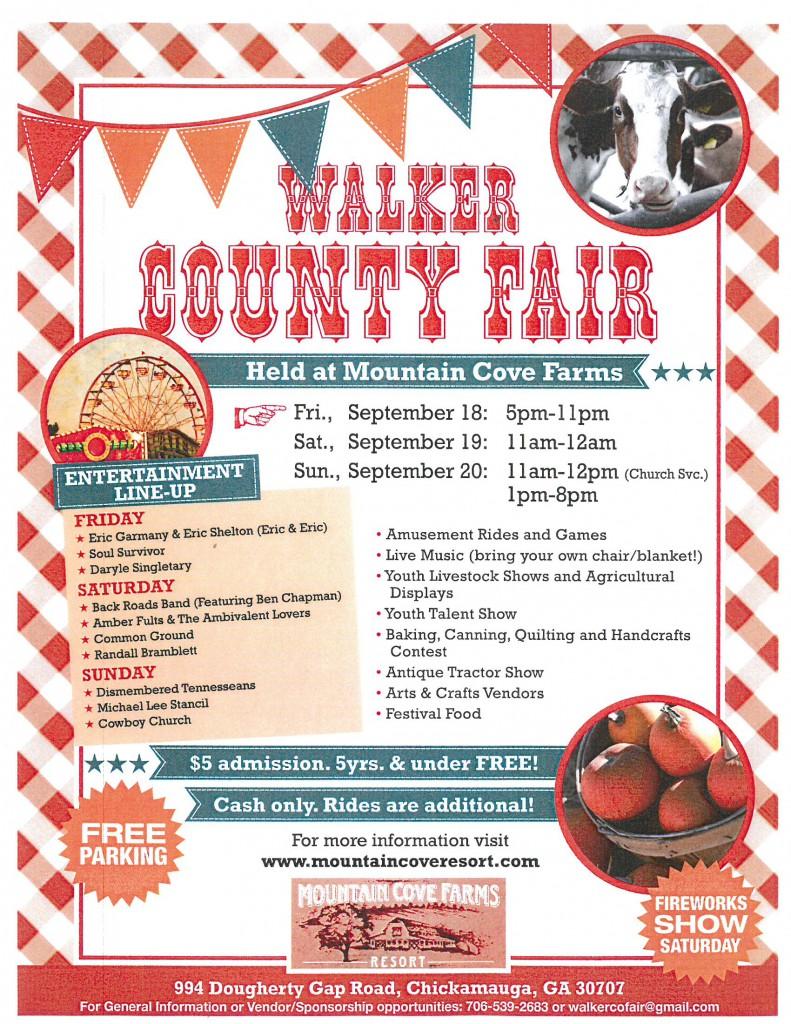 Walker County Fair @ Mountain Cove Farms | Chickamauga | Georgia | United States